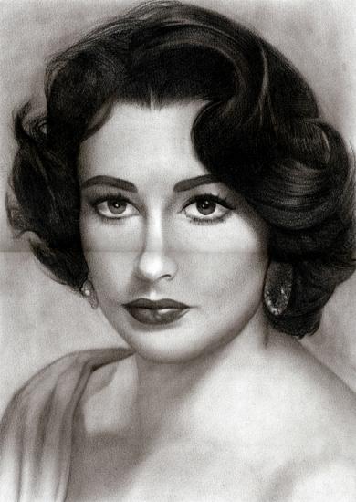 Elizabeth Taylor by Stan